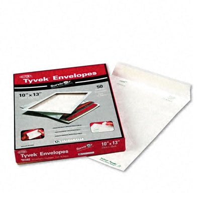 DuPont Tyvek Catalog/Open End Envelopes - 50/Box