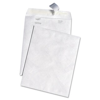 DuPont White Leather Tyvek Envelopes - 100 per Box