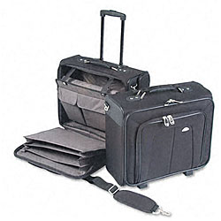 Samsonite Ballistic Nylon Side Loader Mobile Office Notebook Carrying Case