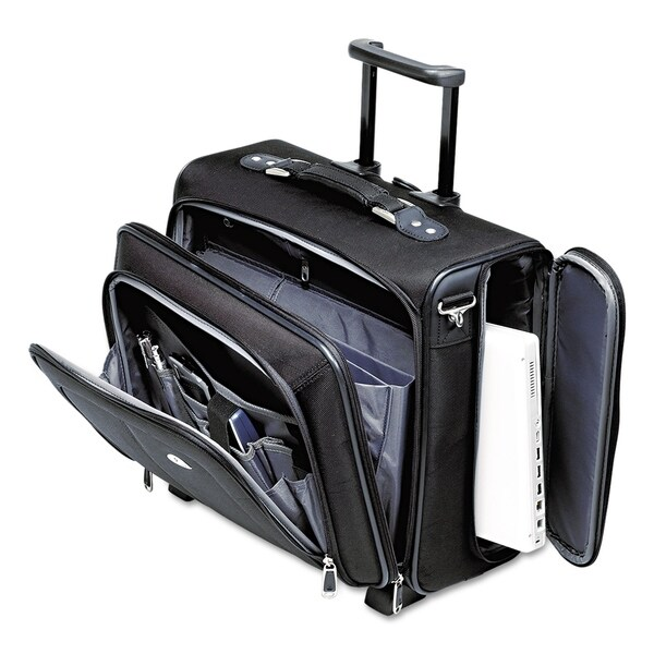 0dd8311c7d9 Shop Samsonite Ballistic Nylon Side Loader Mobile Office Notebook Carrying  Case - Free Shipping Today - Overstock.com - 2693658