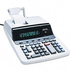 Sharp VX2652H 2-Color High-Performance Ribbon Printing Calculator