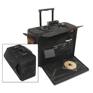 Stebco Ballistic Nylon Business Case on Wheels in Black