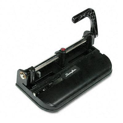 Swingline 32-Sheet Lever Action Handle Heavy-Duty Punch