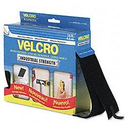 15-Foot Industrial-Strength Sticky-Back Hook & Loop Fasteners