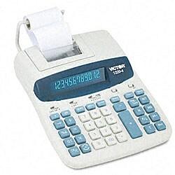 Victor 1220-4 2-Color Printing Calculator