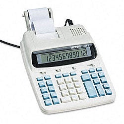 Victor 1228-2 2-Color Roller Printing Calculator