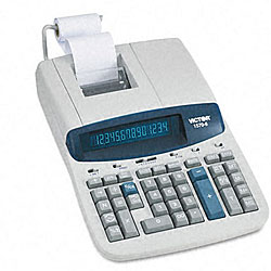 Victor 1570-6 2-Color Commercial Printing Calculator