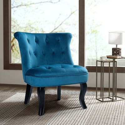 High Back, Blue Living Room Chairs | Shop Online at Overstock