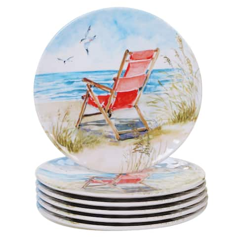 Certified International Ocean View Salad/Dessert Plates, Set of 6