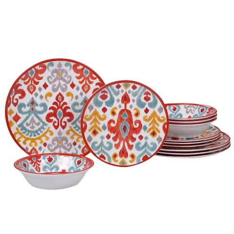 Certified International Bali 12-piece Dinnerware Set, Service for 4