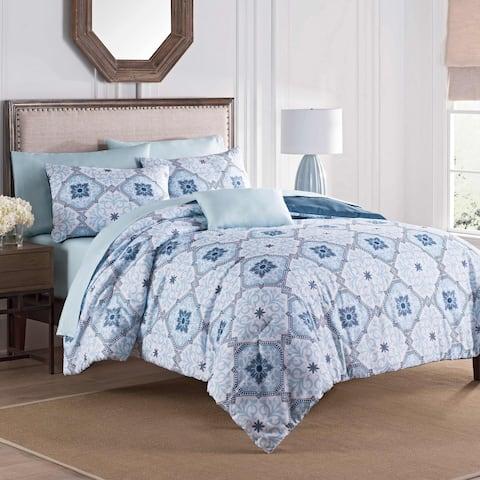 Martex Ankara Blue 8-Piece Comforter Set