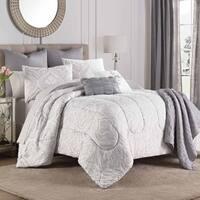 Martex Aria Gray 8-Piece Comforter Set