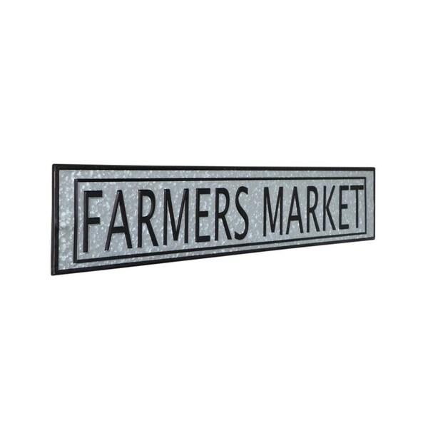 Vintage Farmers Market Metal Sign