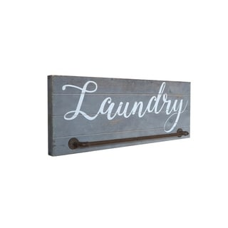 Shiplap Farmhouse Laundry Sign