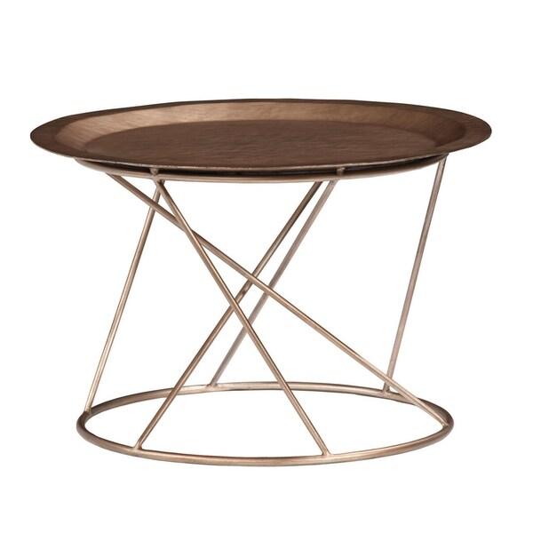 """Palliser Furniture, Daria 13"""" High End Table, Round"""