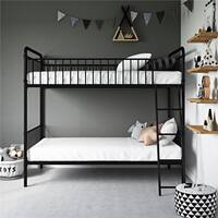 Avenue Green Kate Twin over Twin Metal Bunk Bed