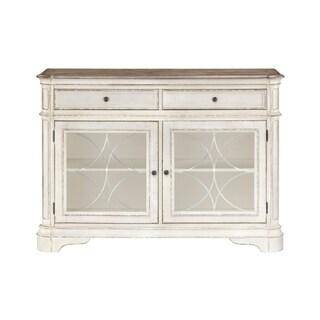 Standard Furniture Stevenson Manor Buffet, Distressed White