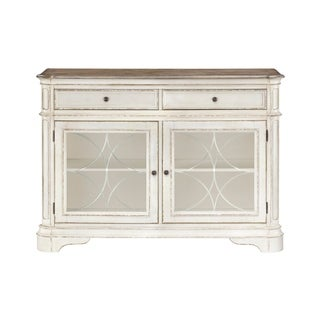 Standard Furniture Stevenson Manor Buffet, Distressed White
