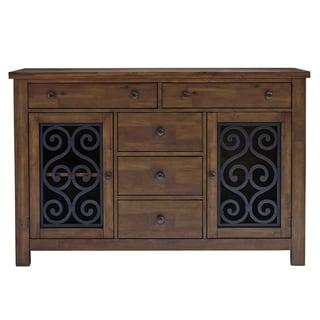 Standard Furniture Hawkins Sideboard, Warm Walnut Finish