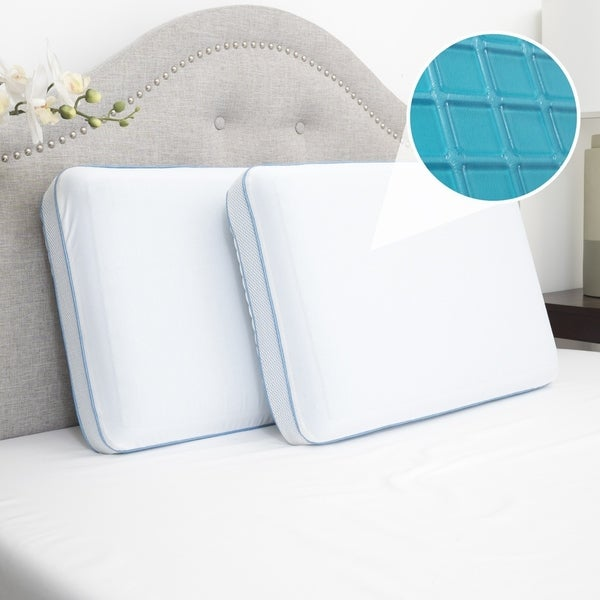 Shop Sweet Home Collection Cool Gel Memory Foam Bed Pillow