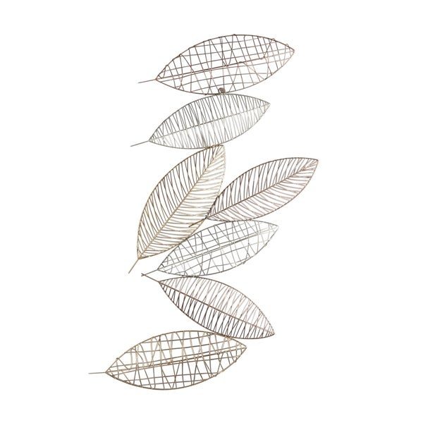Metal Leaves Cluster Wall D�cor Accent, Multicolor