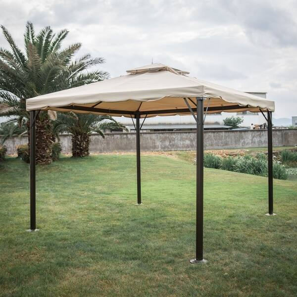 sale retailer f11d1 53119 Shop Kinbor Outdoor Gazebo Patio Gazebo Pop up Canopy Tent w ...