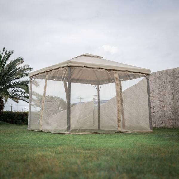 Shop Kinbor Outdoor Gazebo Patio Gazebo Pop up Canopy Tent w