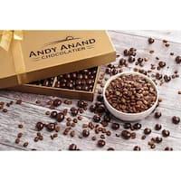 30th Birthday Gift Basket Plush Teddy Bear Premium California Vegan Chocolate Coated Coffee Beans
