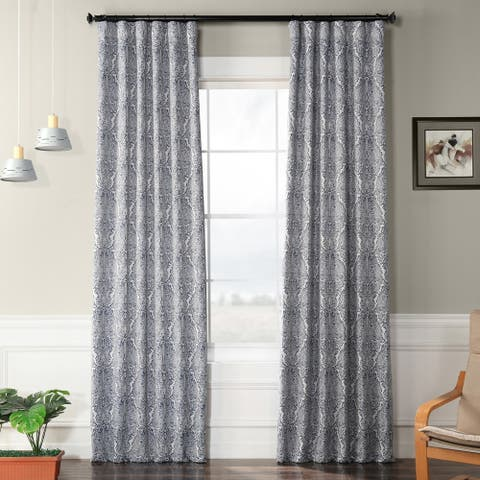 Exclusive Fabrics Amara Blackout Curtain Panel Pair