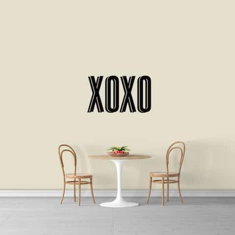 XOXO Wall Decal