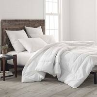 Porch & Den Ledum White Cotton Basic Bedding Comforter