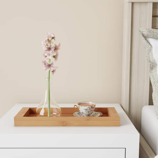 Bamboo Bathroom Vanity Tray