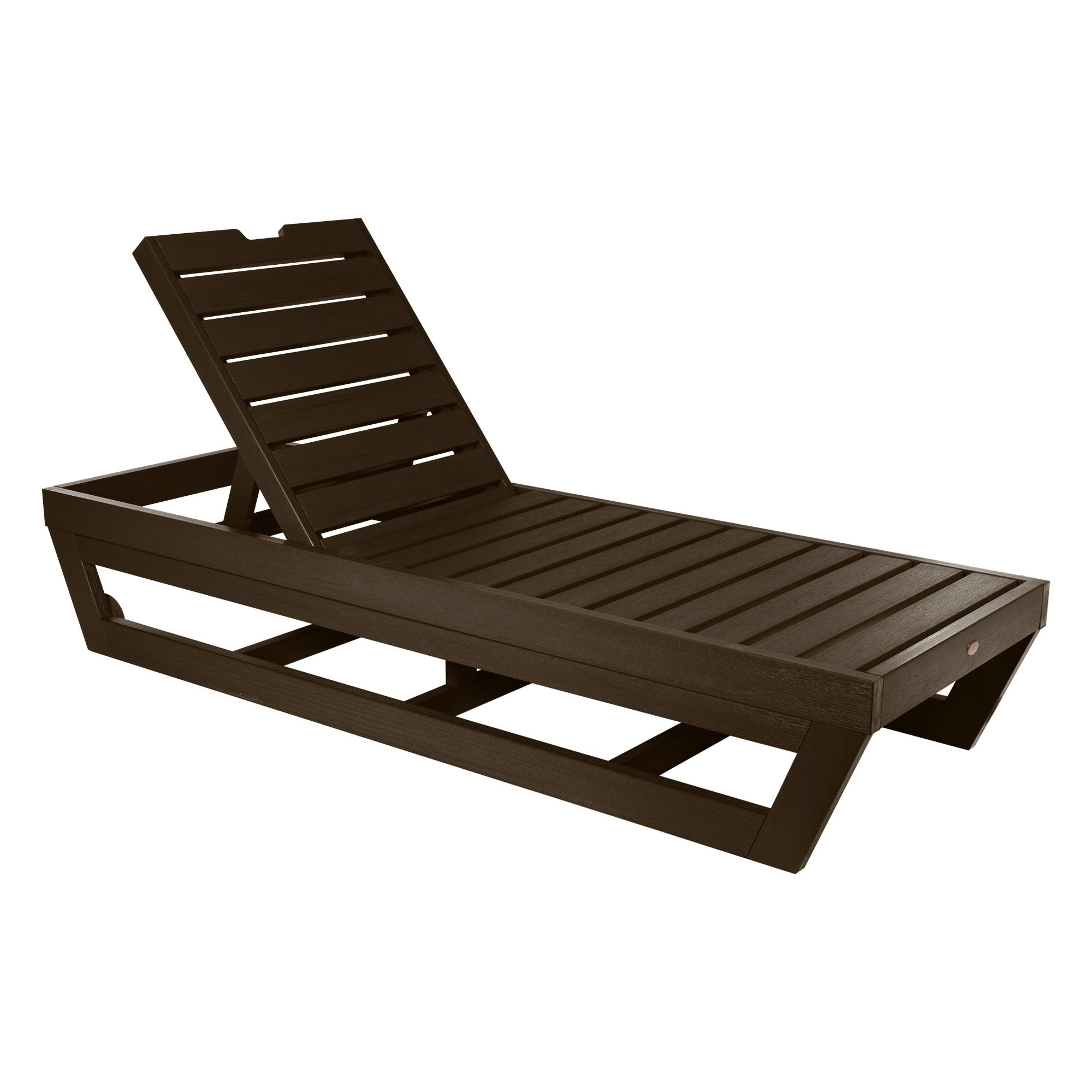 Tidyard Outdoor Wicker Chaise Lounge Chairs With Canopy