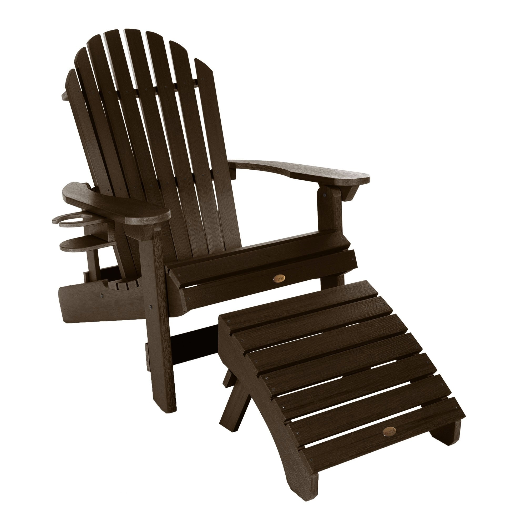 Details About Havenside Home Mandalay Reclining Adirondack Chair Cupholder