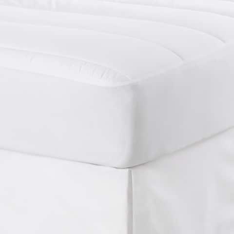 EcoPure Pure + Simple White Mattress Pad