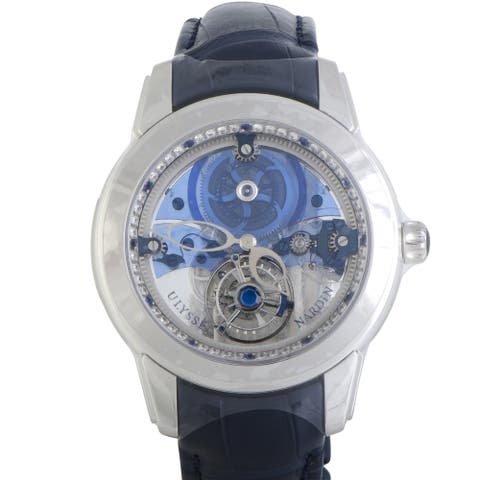 Ulysse Nardin Royal Blue Mystery Tourbillon Watch 799-90