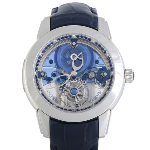 Ulysse Nardin Royal Blue Mystery Tourbillon Watch 799-92