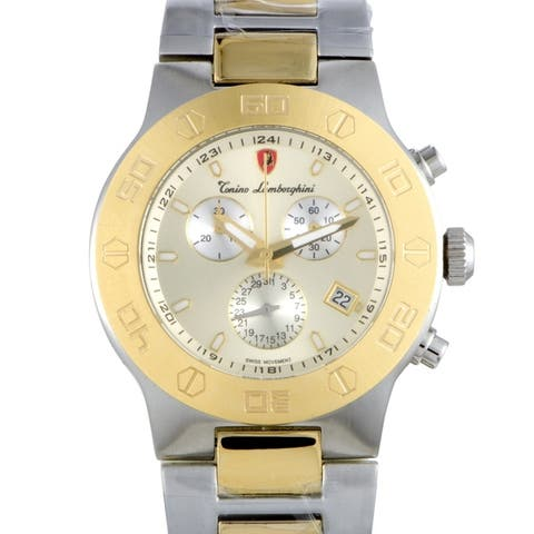Tonino Lamborghini EN Models Men's Quartz Chronograph Watch EN034.306