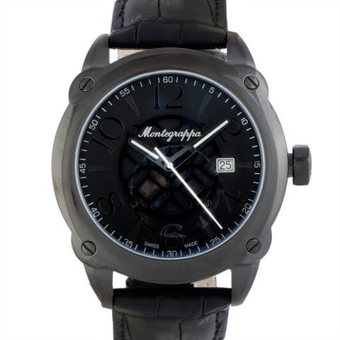 Montegrappa Fortuna Stainless Steel Watch IDOMWALC