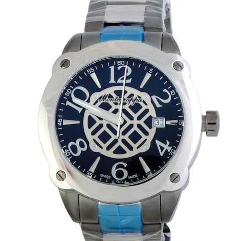 Montegrappa Fortuna Stainless Steel Watch IDOMWAIL