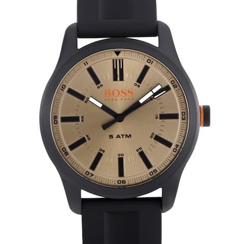 66ac808cefc Hugo Boss Dublin Men s Watch Orange 1550045