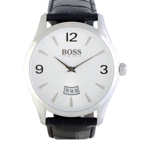 Hugo Boss Commander Men's Watch White 1513449