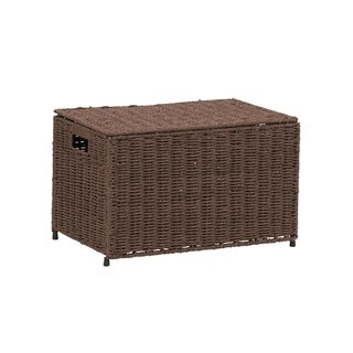 Household Essentials Small KD Chest in Paper Rope Coffee