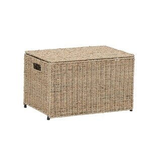 Household Essentials Small KD Chest in Seagrass Natural
