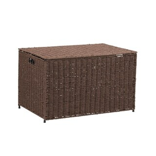 Household Essentials Large KD Chest in Paper Rope Coffee