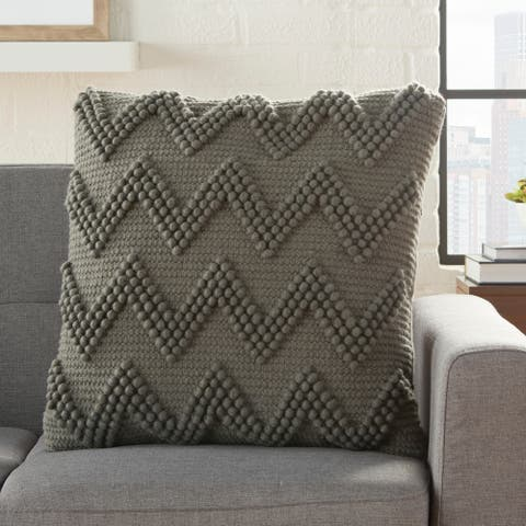 Mina Victory Large Chevron Throw Pillow