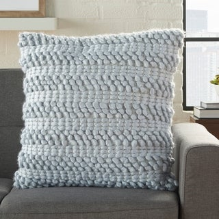 Link to Mina Victory Life Styles Woven Stripes Throw Pillow Similar Items in Decorative Accessories