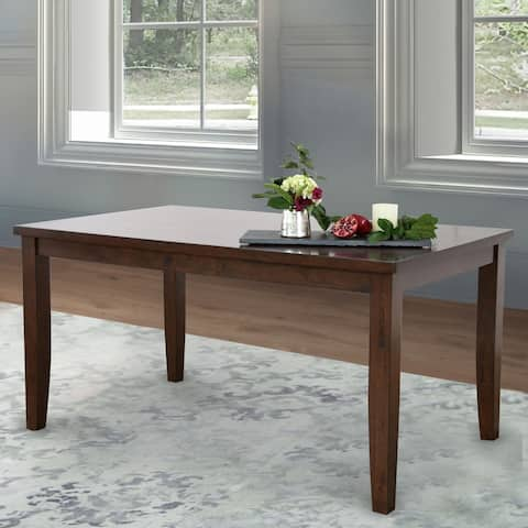 Abbyson Theodore Brown Dining Table