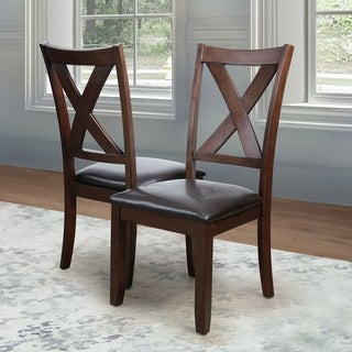 Abbyson Theodore Brown Dining Chair