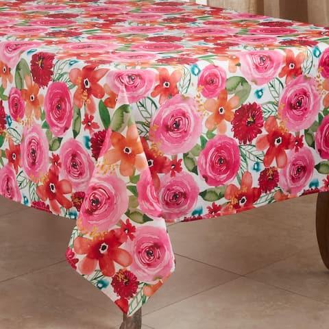 Floral Design Tablecloth